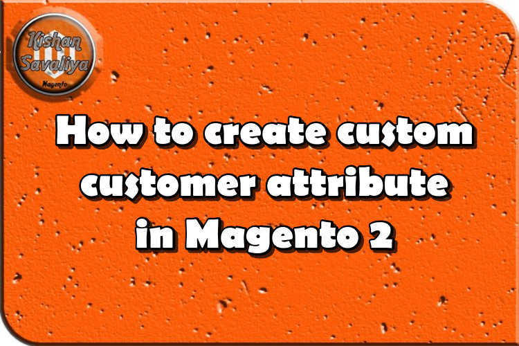 How to create custom customer attribute in Magento 2